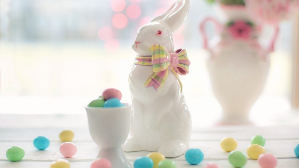 Easter chocolate from the Easter Bunny