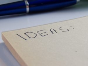 Start making your idea lists