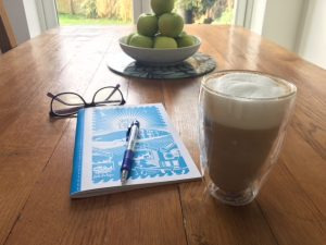 My favourite spot to enjoy a coffee at home