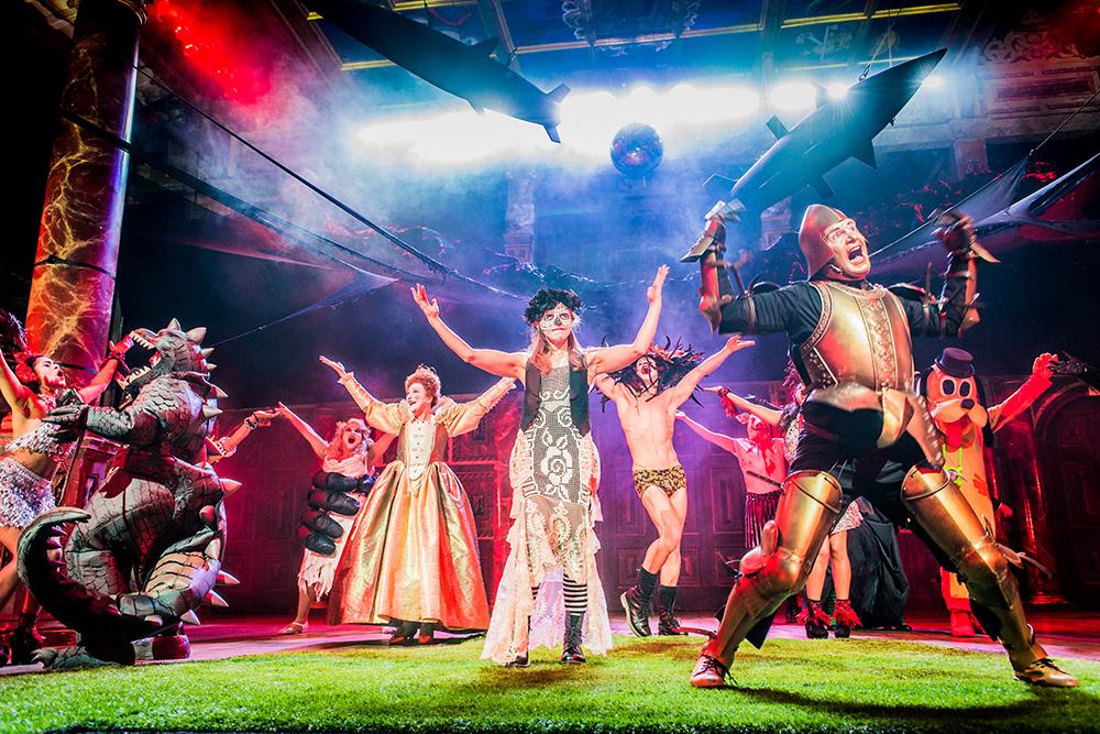 Romeo & Juliet at the Globe Theatre 2017