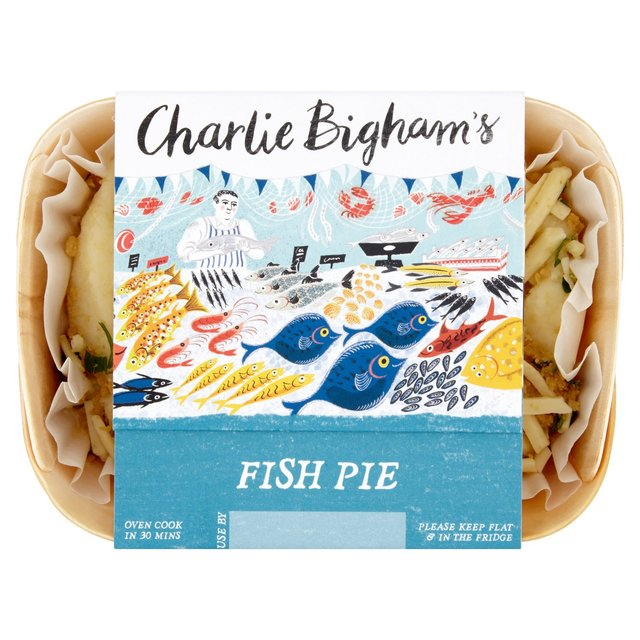 Charlie Bigham's story telling at point of sale