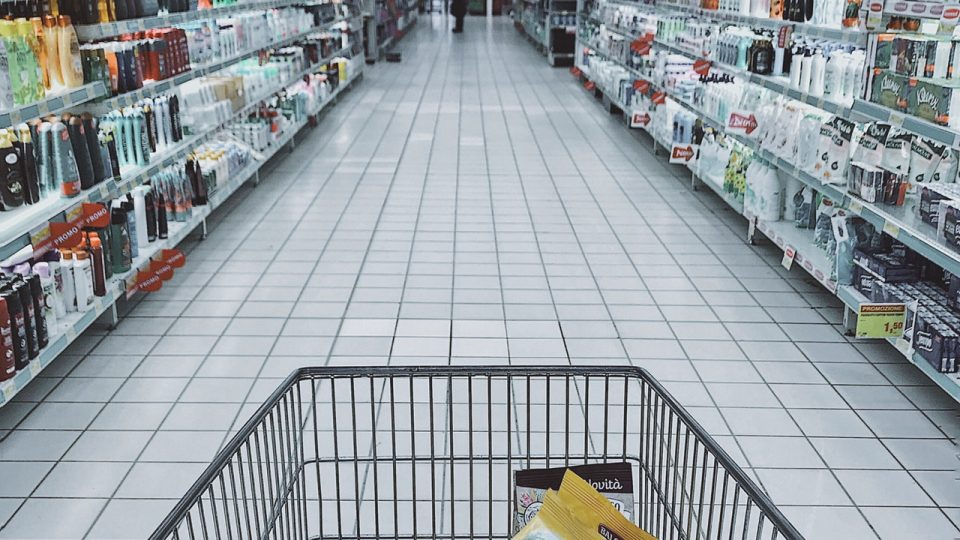 Staking out supermarket shoppers with Tessa Stuart