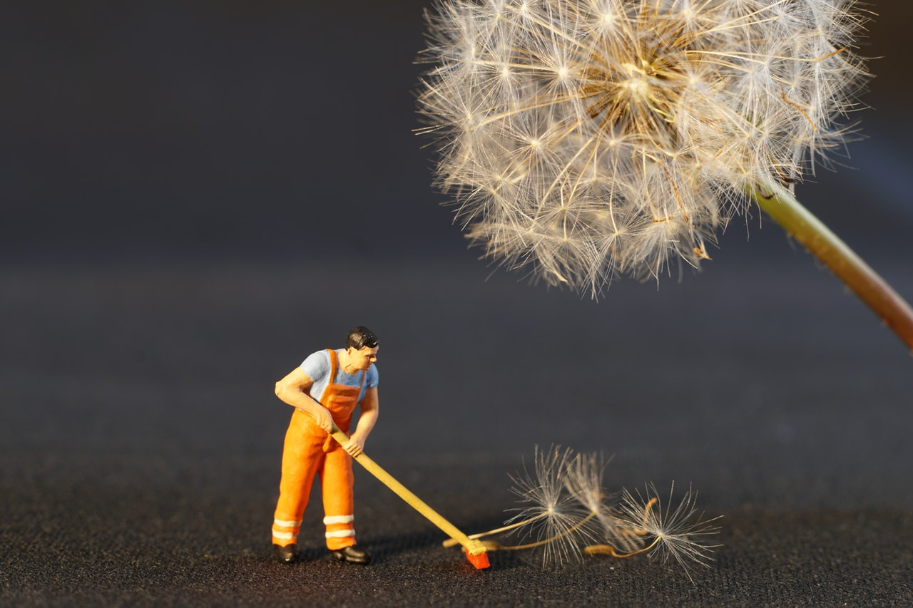 Tidying up your online act