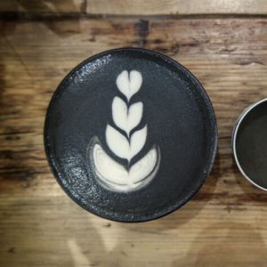 Bird & Blend Black Magic Matcha Latte