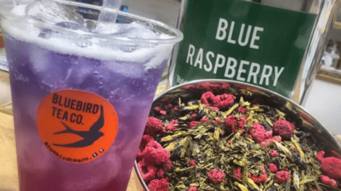 Blue Raspberry Colour Changing Tea