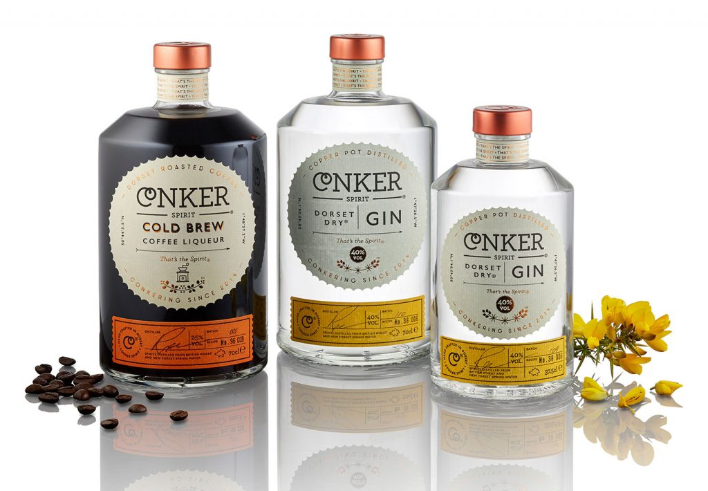 Conker Spirit Company. Consistently great spirits.