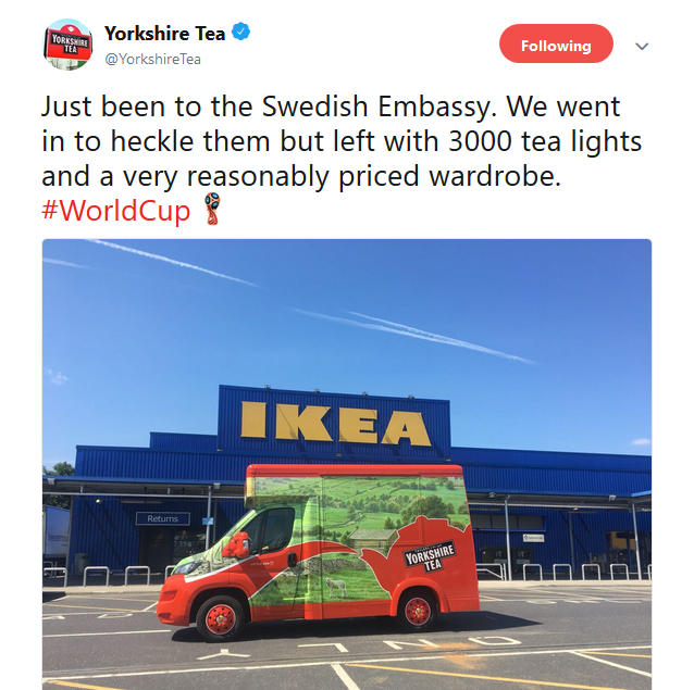 Getting clever around big events with Yorkshire Tea