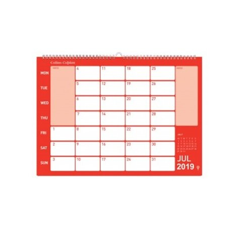 My favourite bit of office kit: a wall calendar