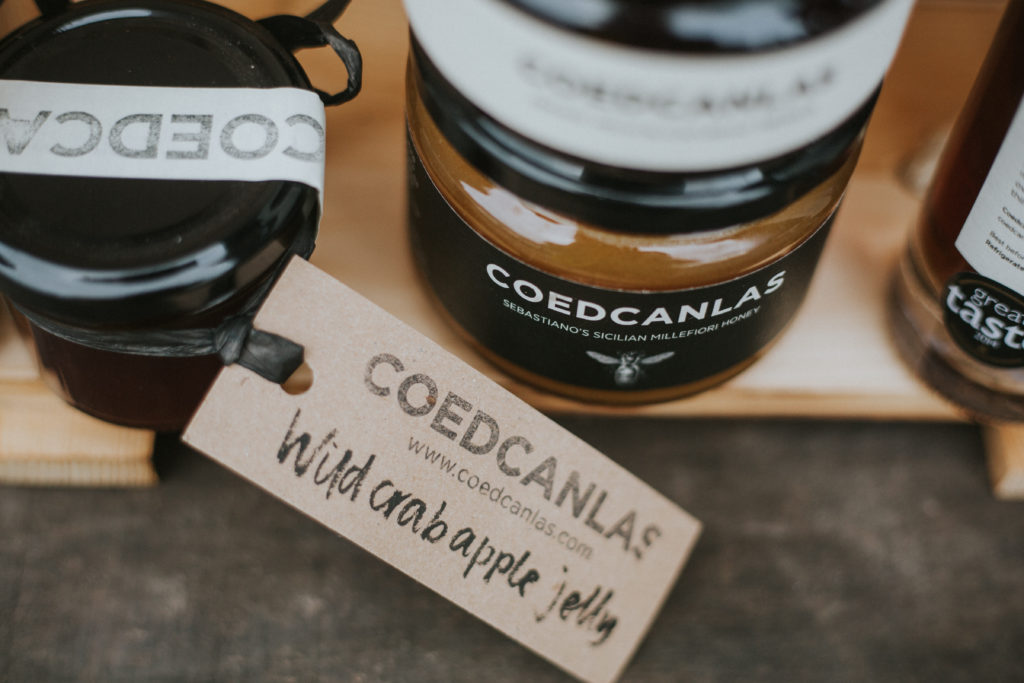 Coedcanlas jelly at The High Street Delicatessen