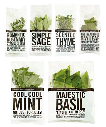 Waitrose own-brand herbs: tasty stories told well