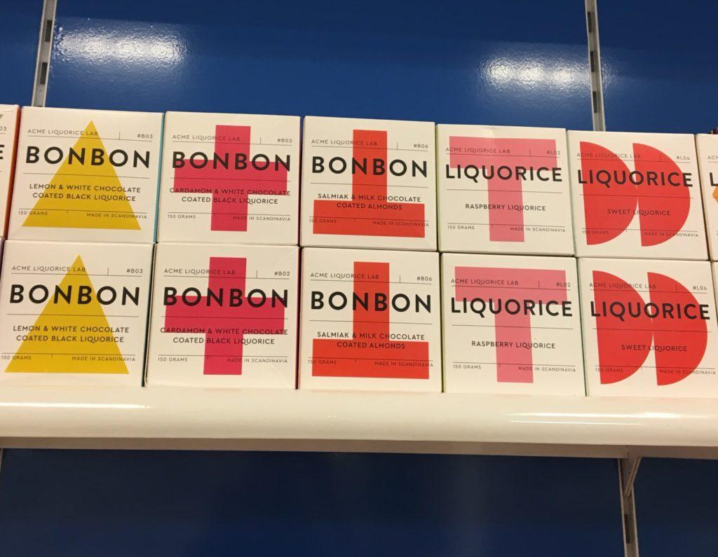Bon bons and liquorice