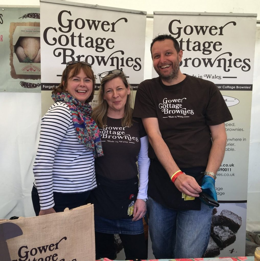 Follow Kate at Gower Cottage Brownies to see how to max out content opportunities at food festivals