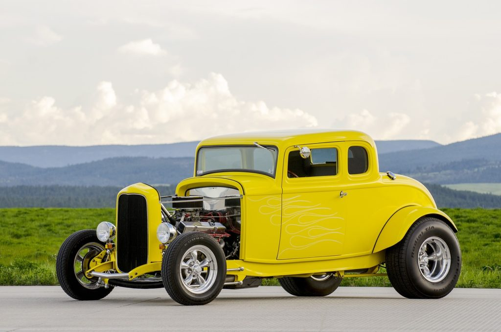 Is a hot rod part of your brand stories?