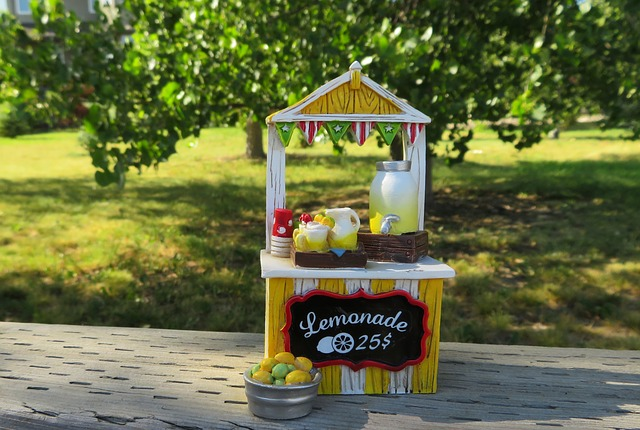 What's on your lemonade stand?
