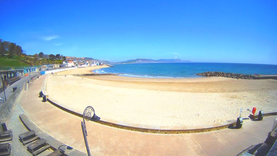 The times we find ourselves in: Lyme Regis looking empty but beautiful