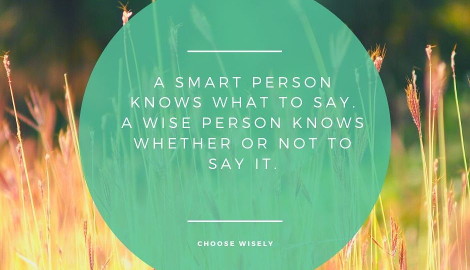 Are you being smart or wise with your content choices?
