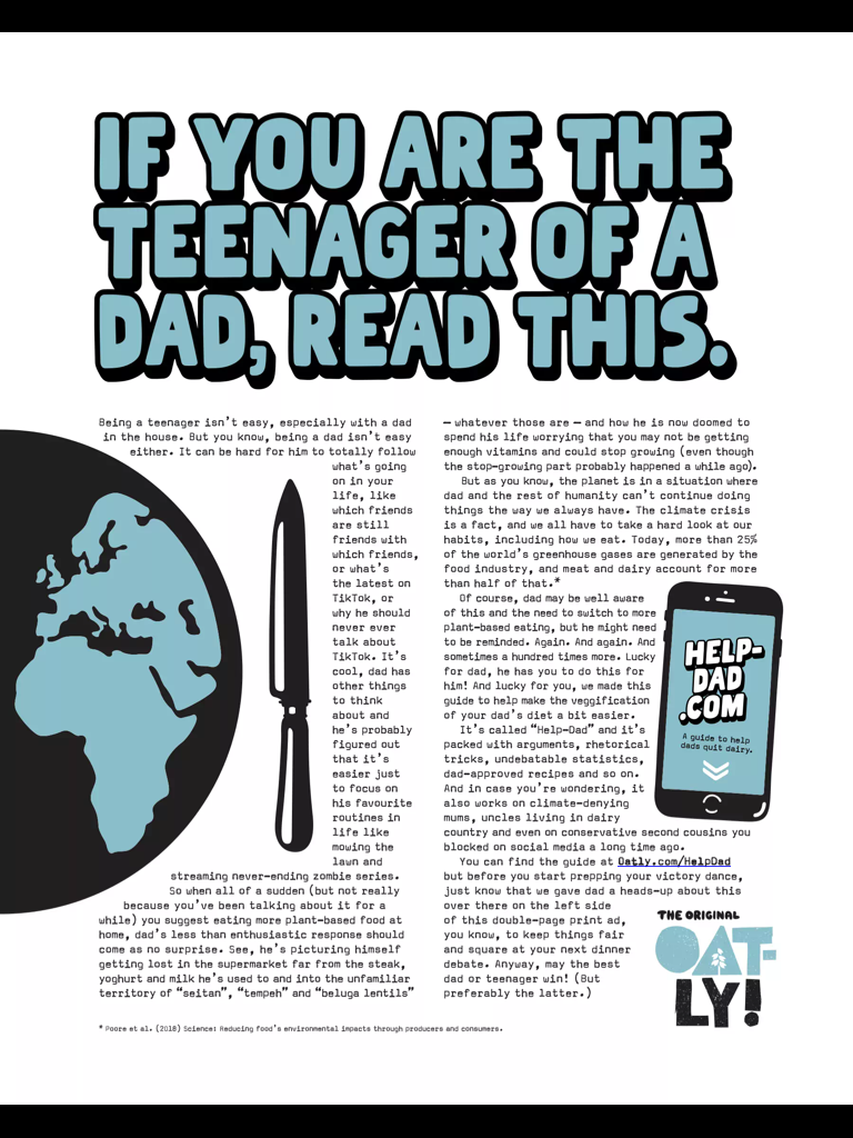 Oatly enlists teenagers in marketing campaign